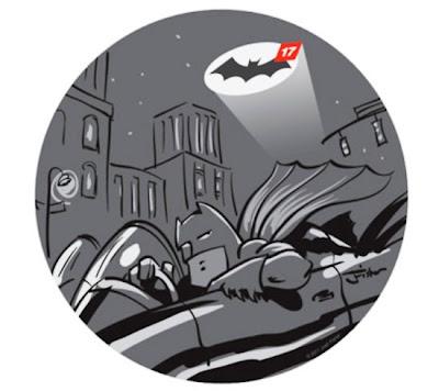 Imagen de Batman en el mundo de Facebook