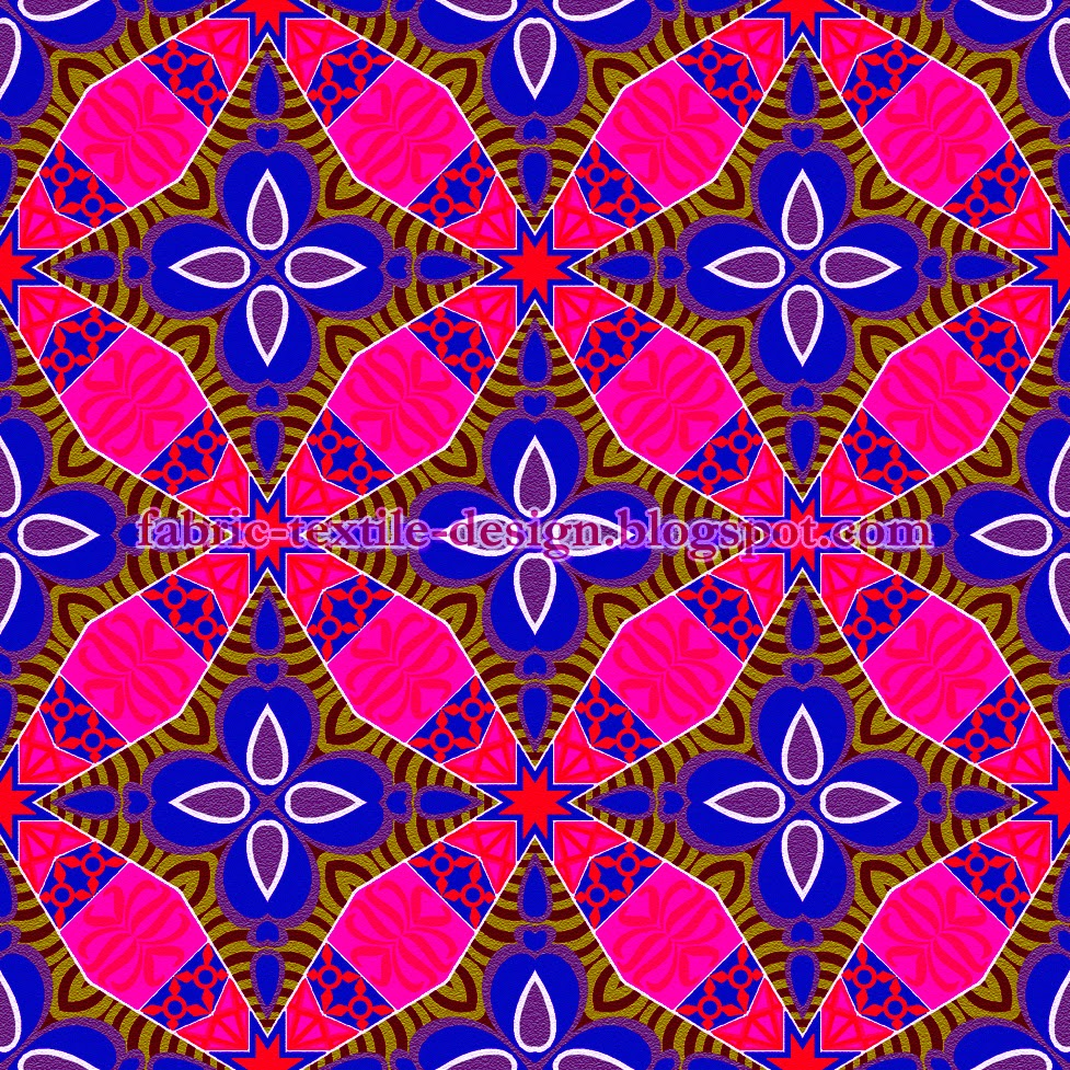 Block printing on fabric print on textile pattern design for Fabric printing
