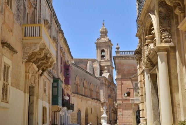 Medina dawna stolica Malty