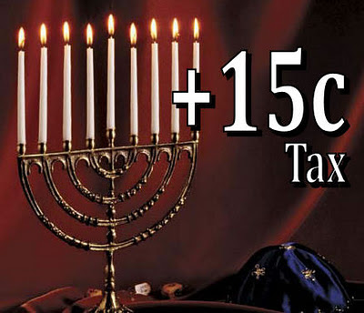 The Menorah tax will never take off