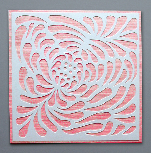 Nessy designs paper cut lotus flower valentine paper cut lotus flower valentine mightylinksfo