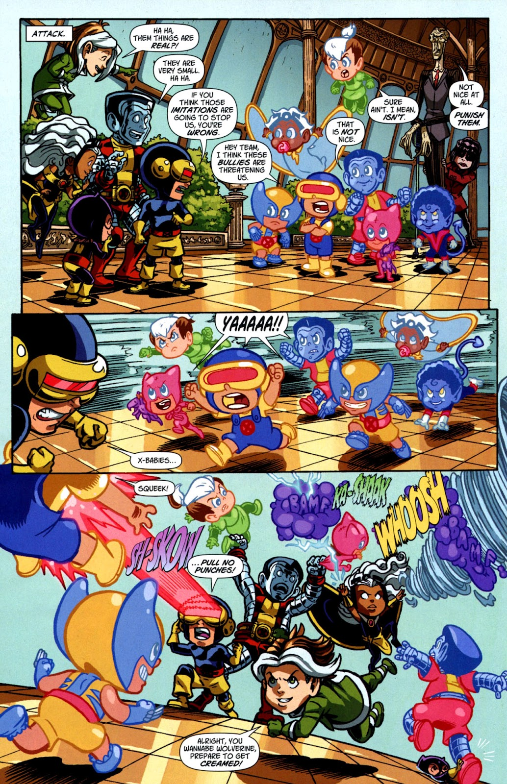 Read online X-Babies comic -  Issue #3 - 15