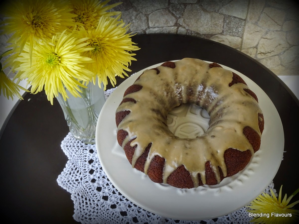 banana jam cake