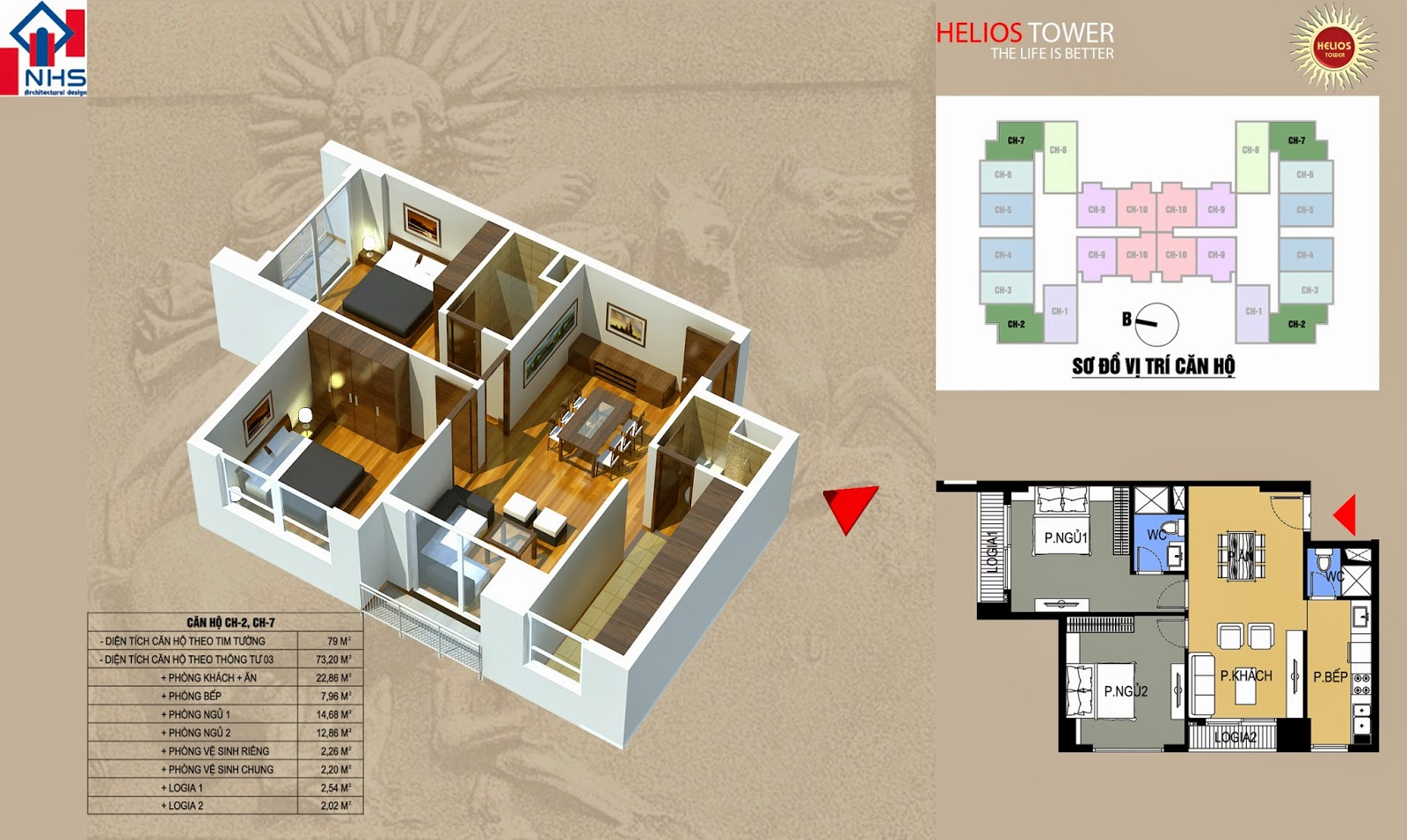 Căn 02 07 Helios Tower 75 Tam Trinh