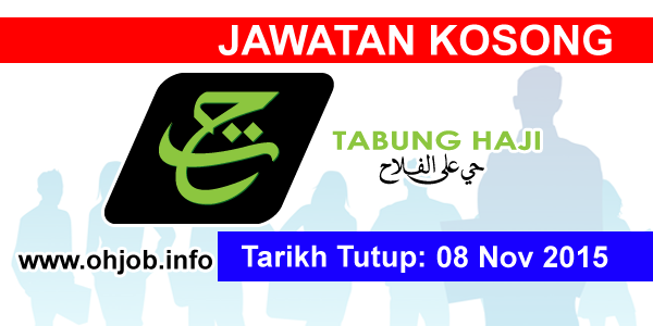 Jawatan Kerja Kosong Lembaga Tabung Haji logo www.ohjob.info november 2015