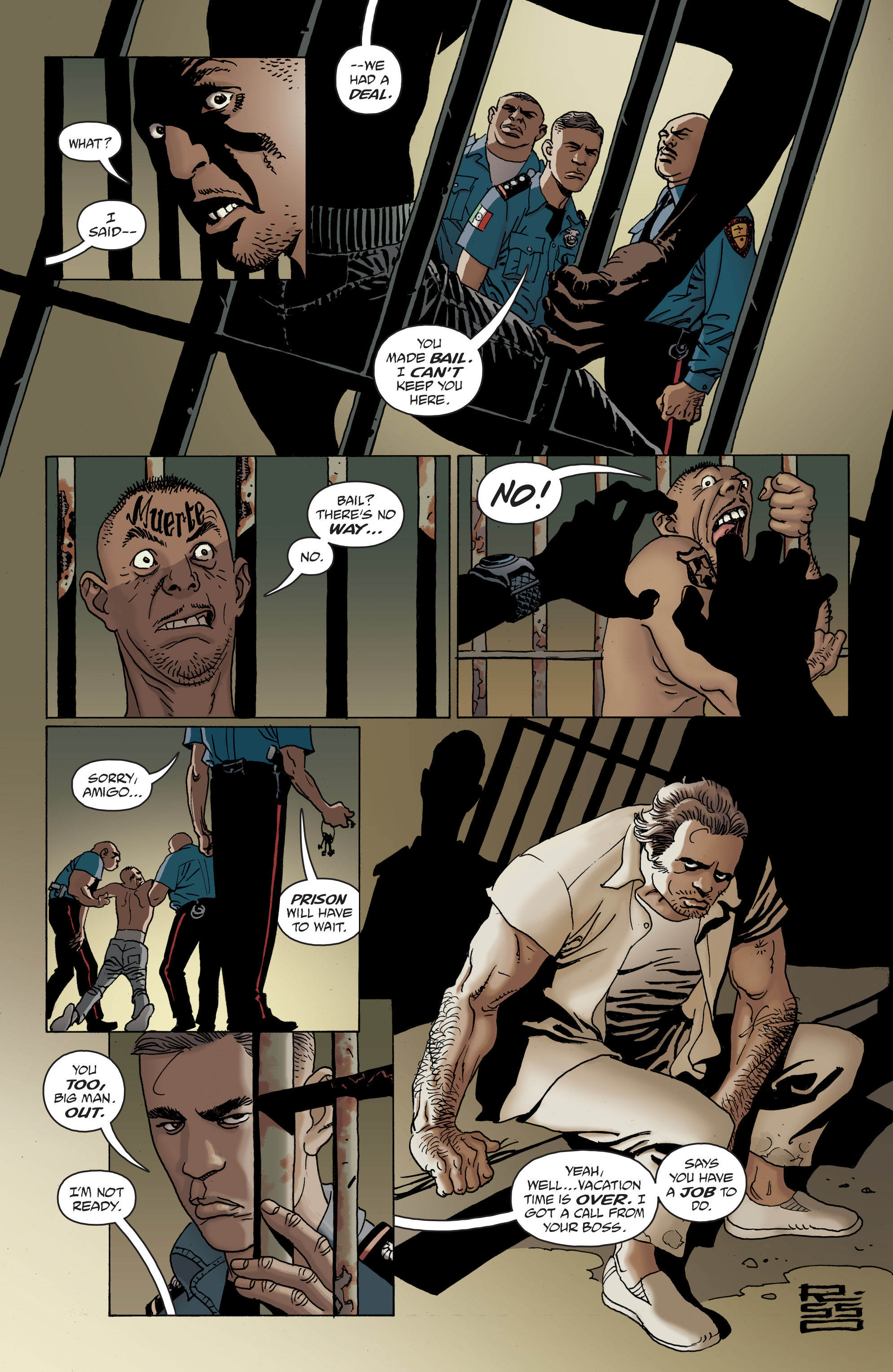 100 Bullets: Brother Lono Full Page 20