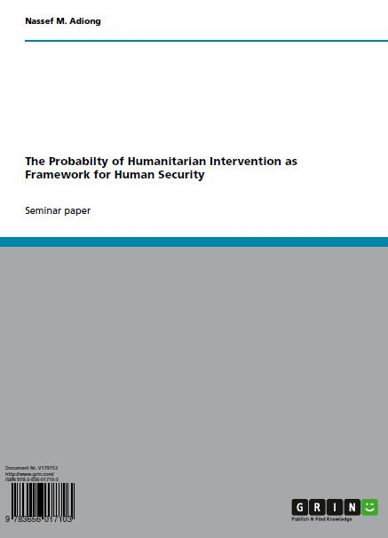 humanitarian intervention essays