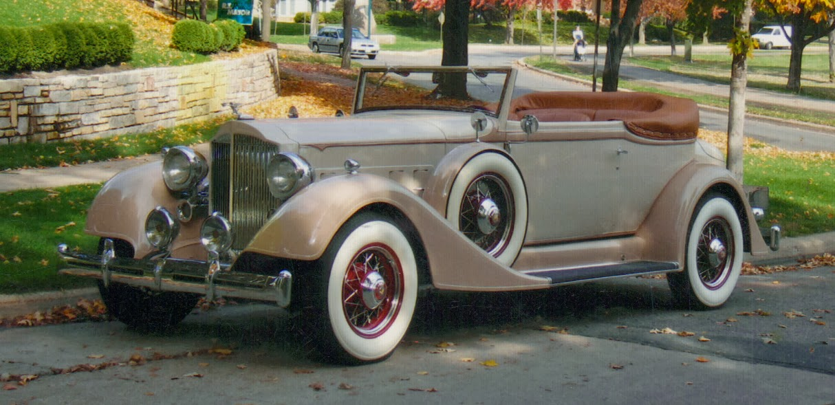 Carhunter Packard Motor Cars 9 Lives 2014 Update