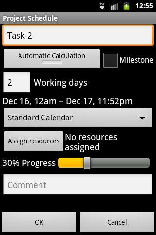 schedule making app
