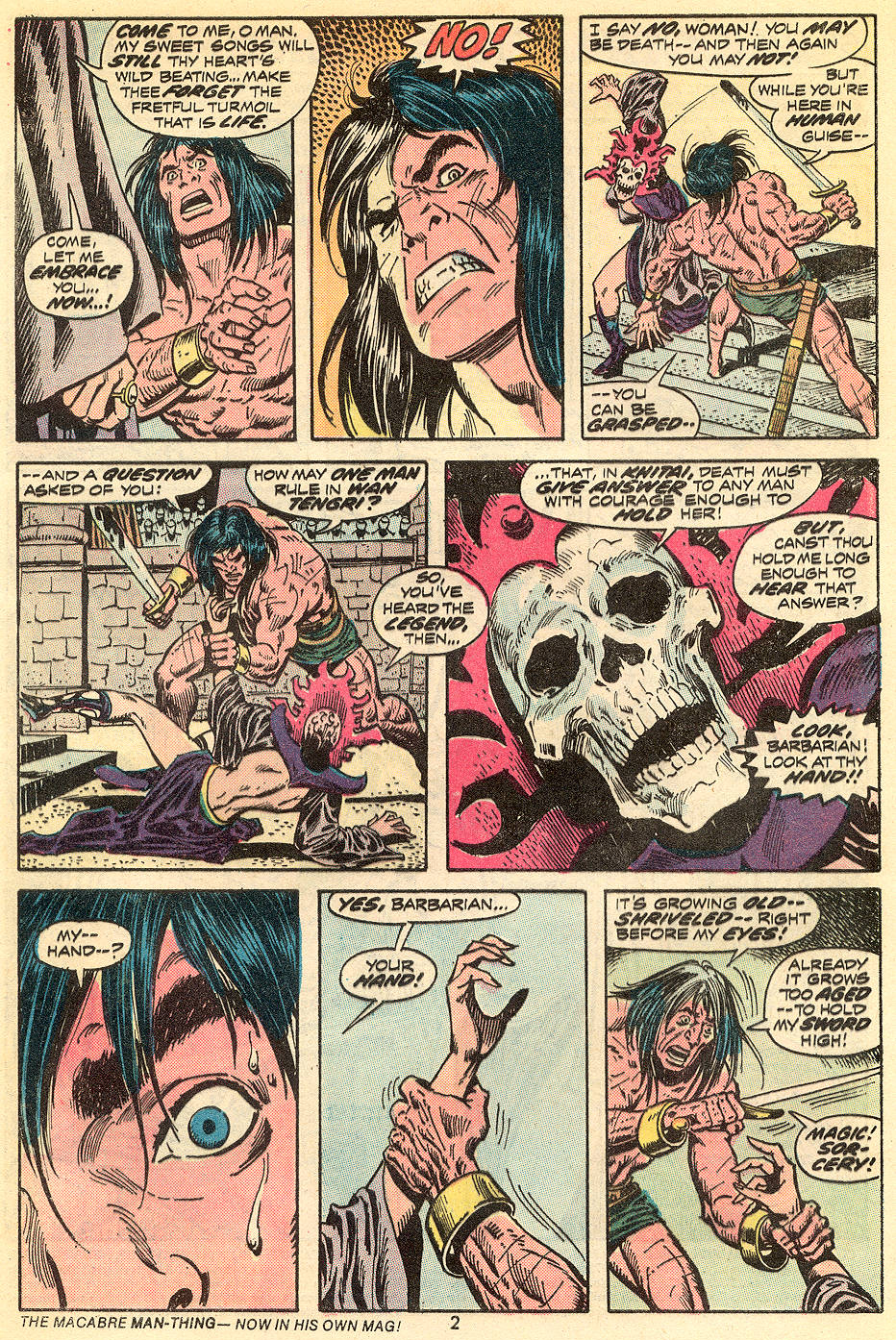 Conan the Barbarian (1970) Issue #34 #46 - English 3