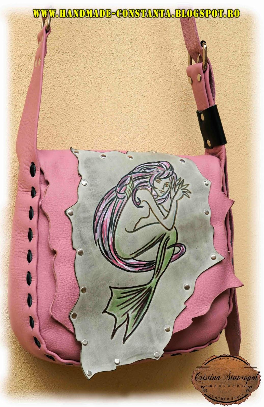 handmade, sirena pe piele