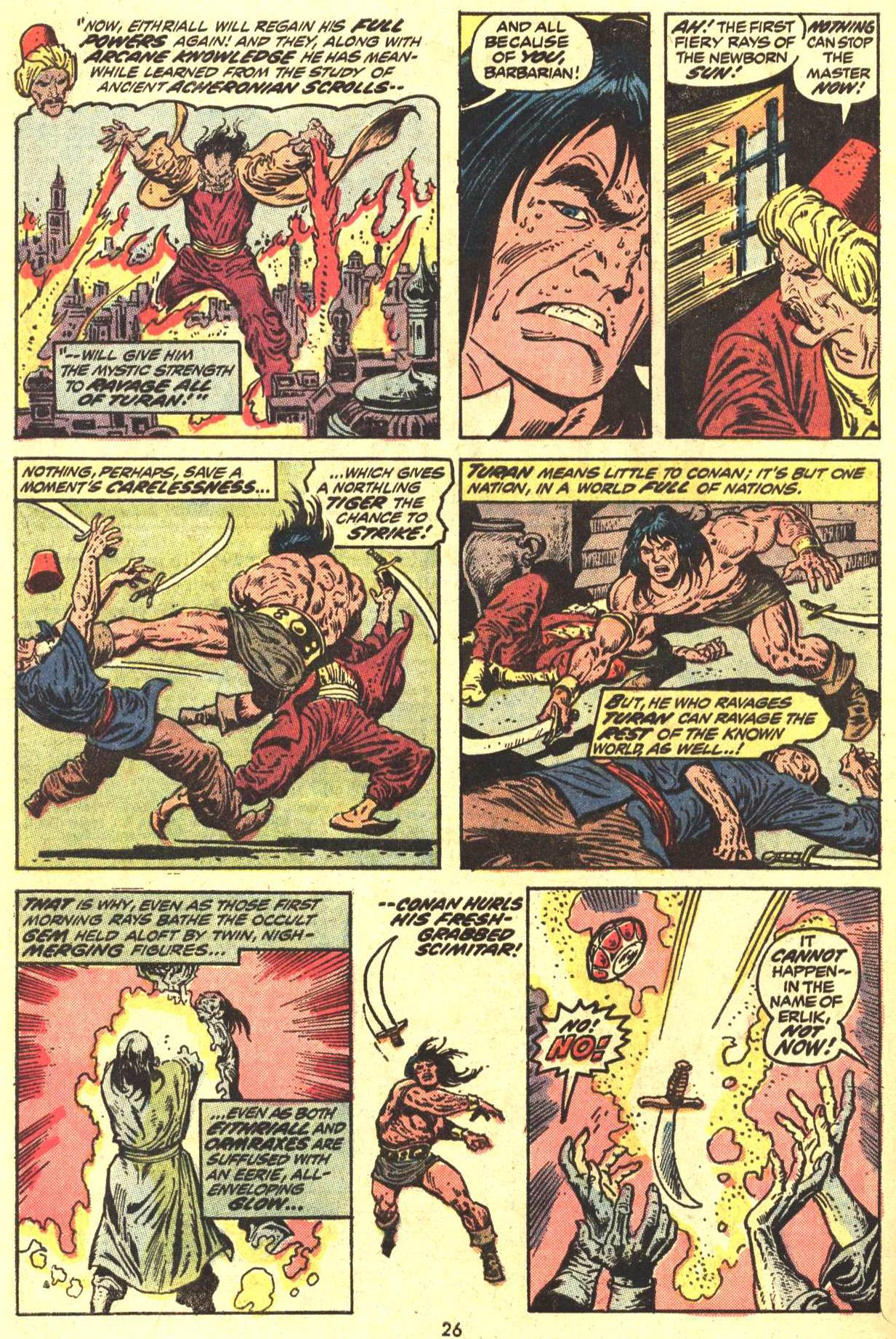 Conan the Barbarian (1970) Issue #29 #41 - English 19