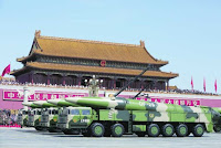 China showcases military strength