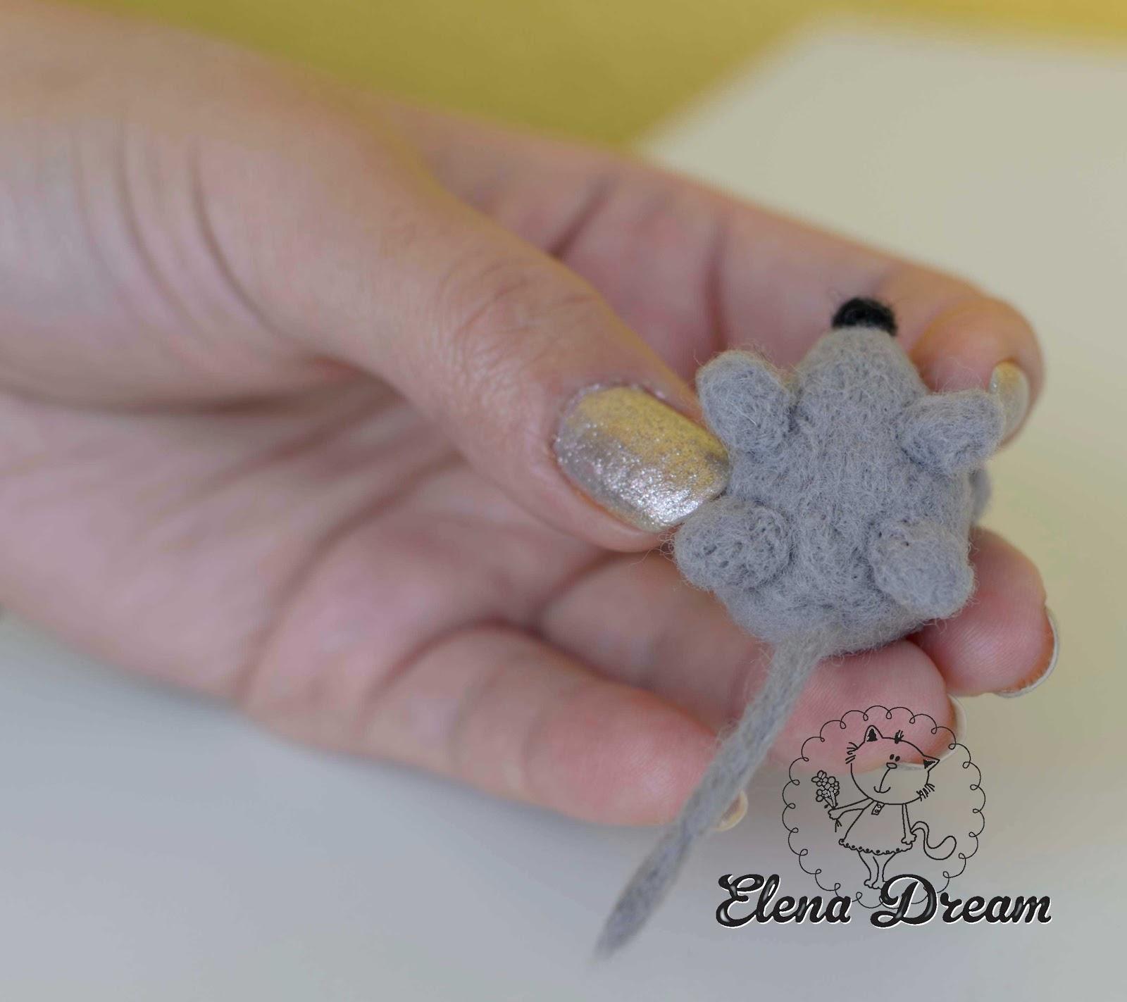 Как сделать мышку из бумаги - шаблон и пошаговый мастер-класс с фото 36