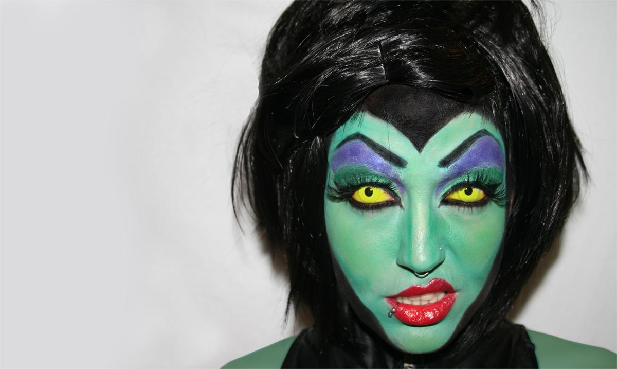 malefica make up