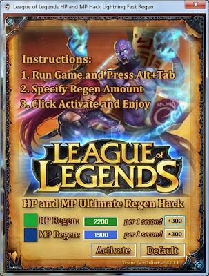 League Of Legends RP Hack