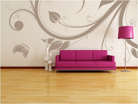 FREE Stenciled Wall Designs Hundreds Of