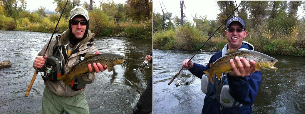 Big fish challenge weber river fishing october 10 2011 for Weber river fishing