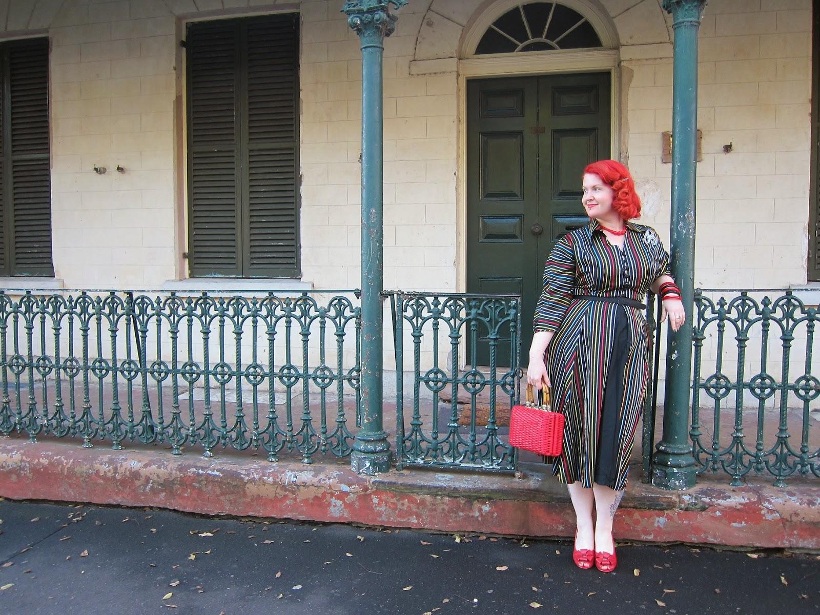 1950s maxan taffeta dress miss l fire rosita plus size vintage red xl evening bakelite lucite sydney the rocks