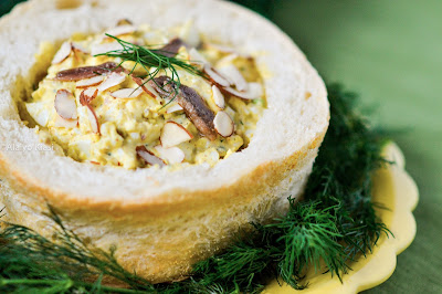 Anchovy and Egg Salad Photography by Alaiyo Kiasi-Barnes
