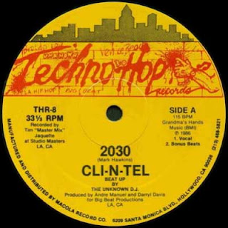 Cli-N-Tel - 2030 (Vinyl, 12\'\' 1986)(Techno Hop Records)