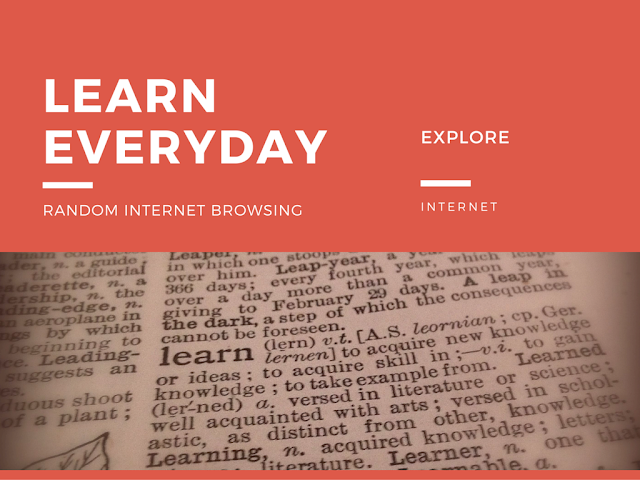 Tips on How To Learn Something New Every Day using internet information sources