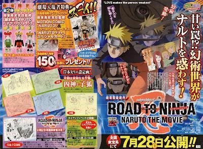 Scan Terbaru Naruto Road to Ninja 3