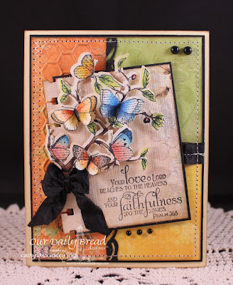 Our Daily Bread Designs, Faith, Butterfly Branch Die