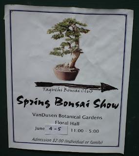 Taguchi Bonsai 2011 Spring Show, Vandusen, Vancouver