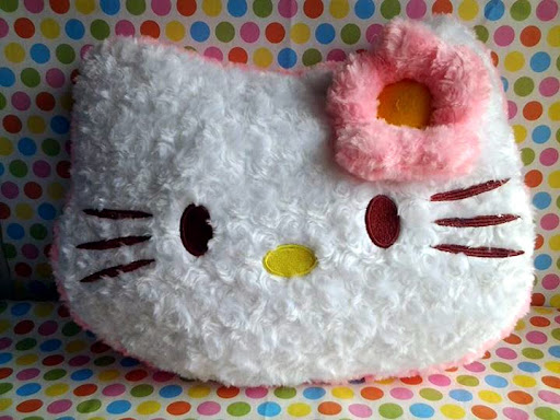 Boneka Hello Kitty Kepala, Bantal Hello Kitty, Bedroom Accessories Hello Kitty, Boneka Hello Kitty, Hello kitty, Perlengkapan Hello Kitty, Pernak-Pernik Hello Kitty, Souvenir Hello Kitty