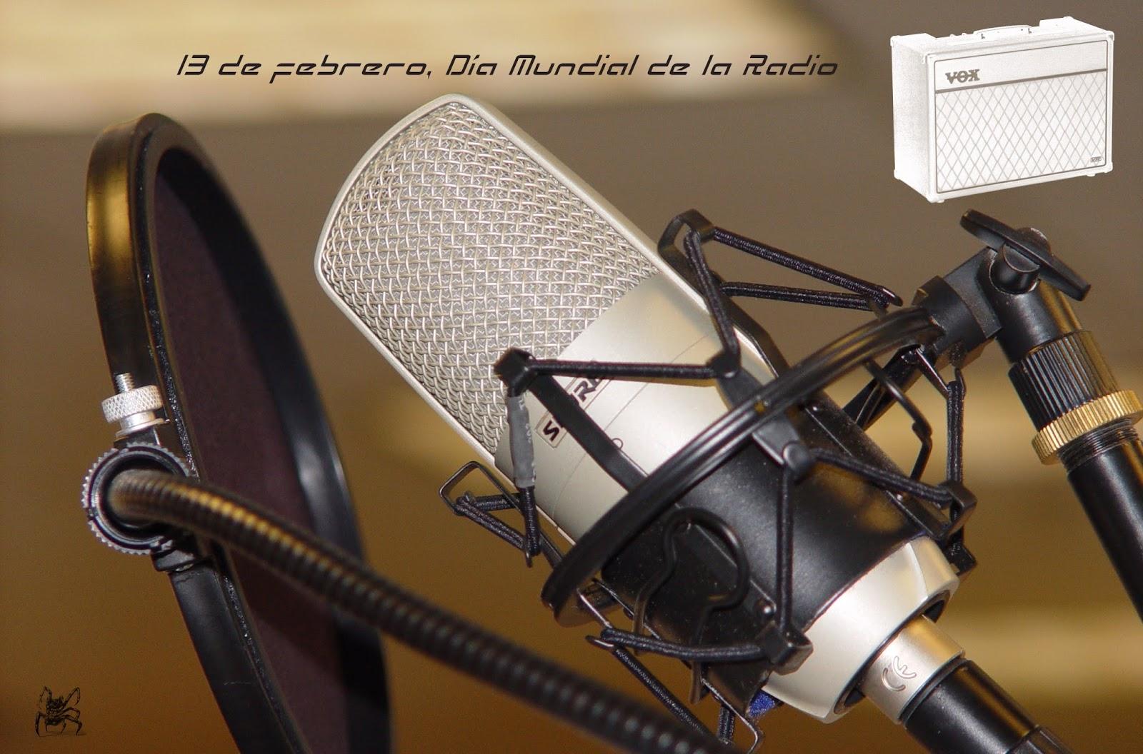 13 de febrero, Día Mundial de la Radio.