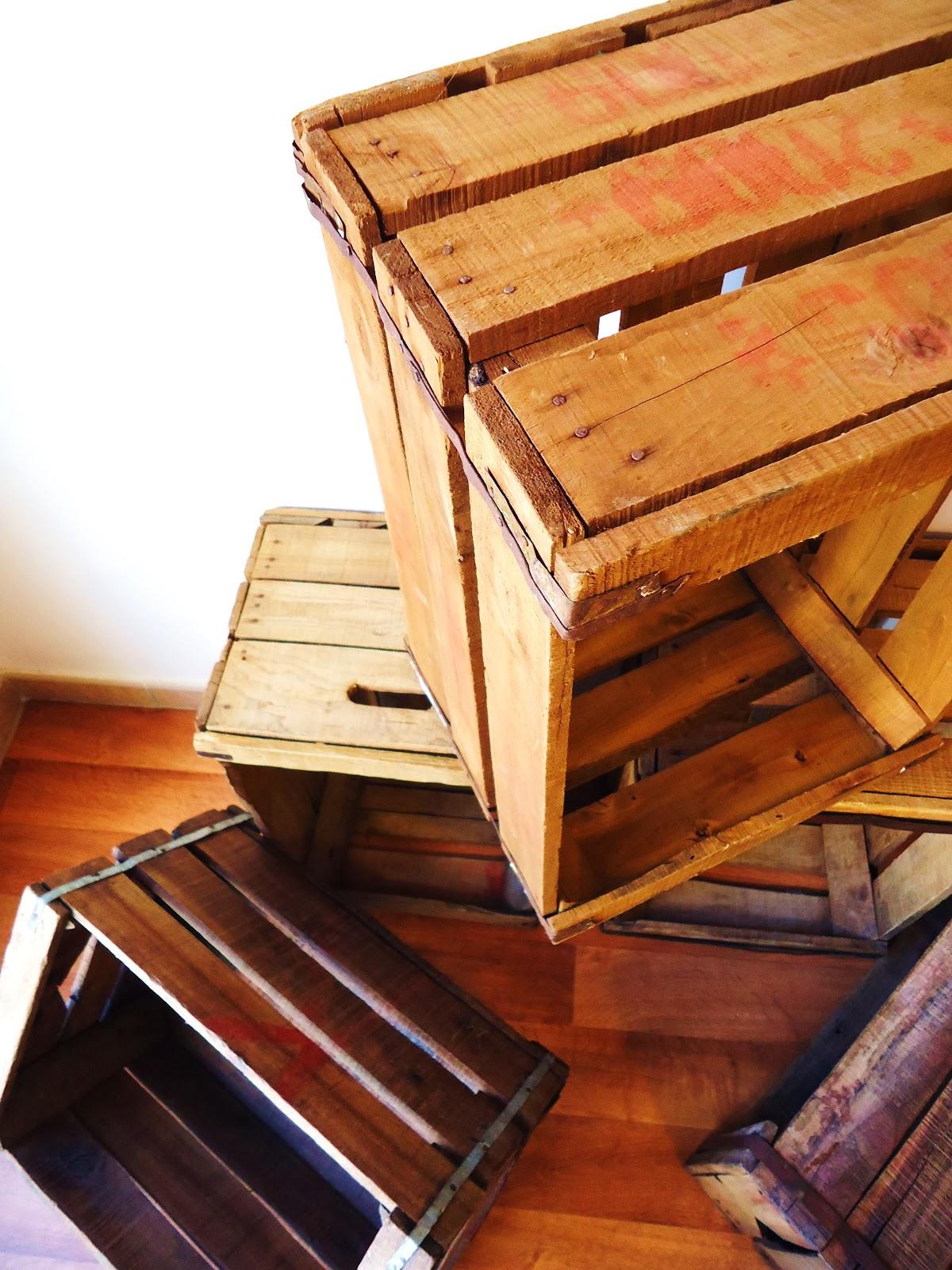 Cajas antiguas de madera de eucalipto vendido - Caja madera antigua ...