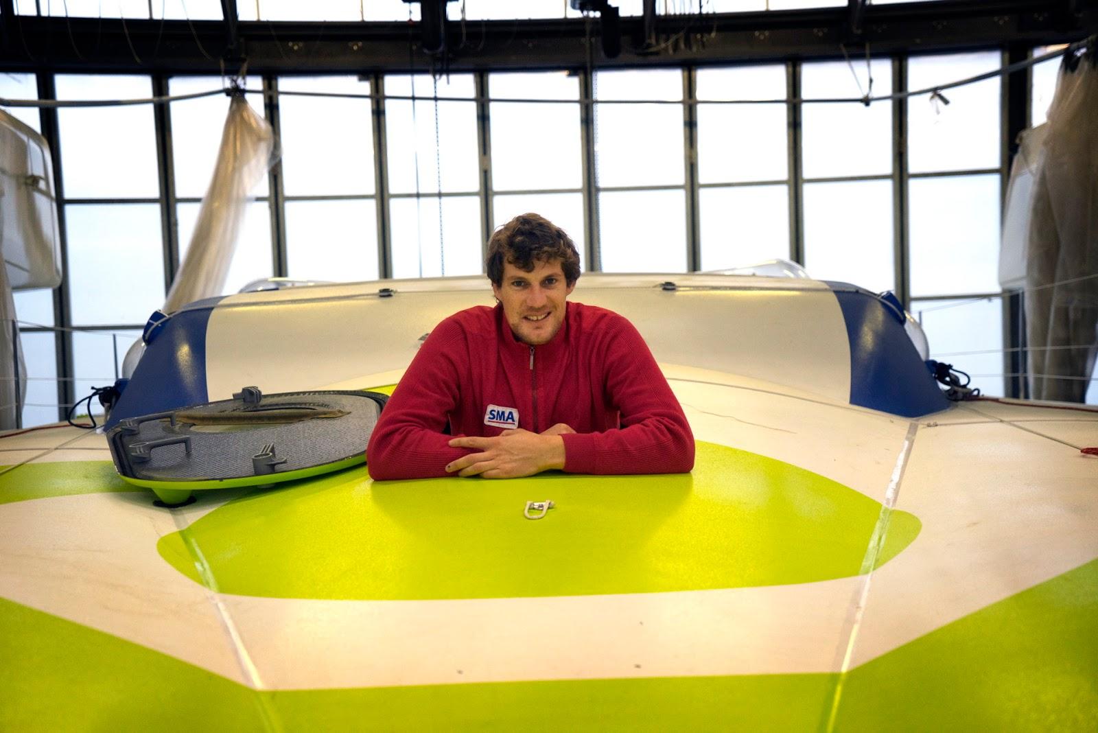 Paul Meilhat avance à grands pas vers le Vendée Globe 2016.