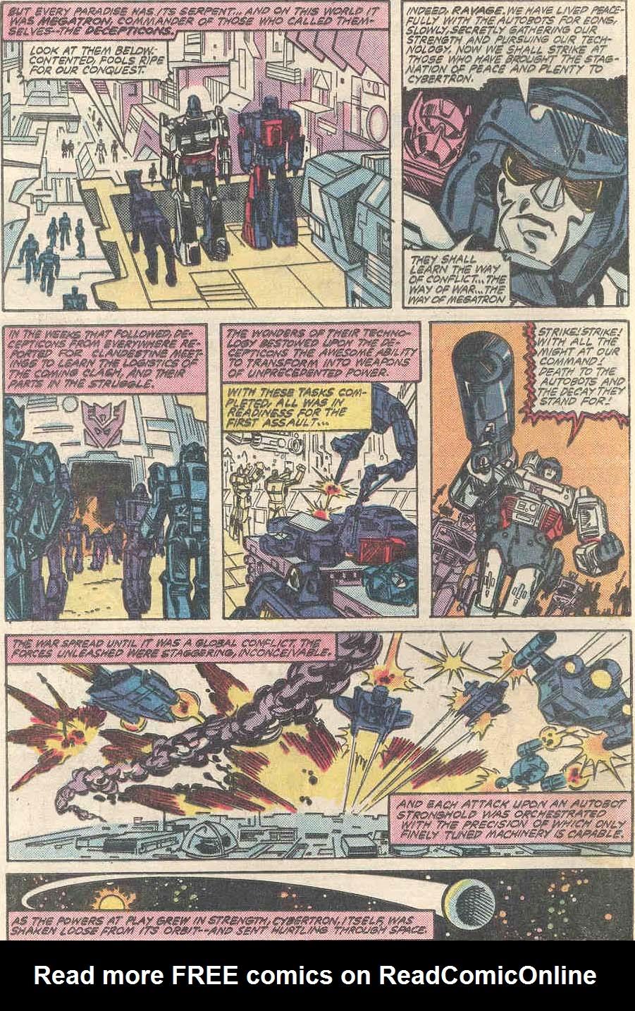 The Transformers (1984) #1 #80 - English 3