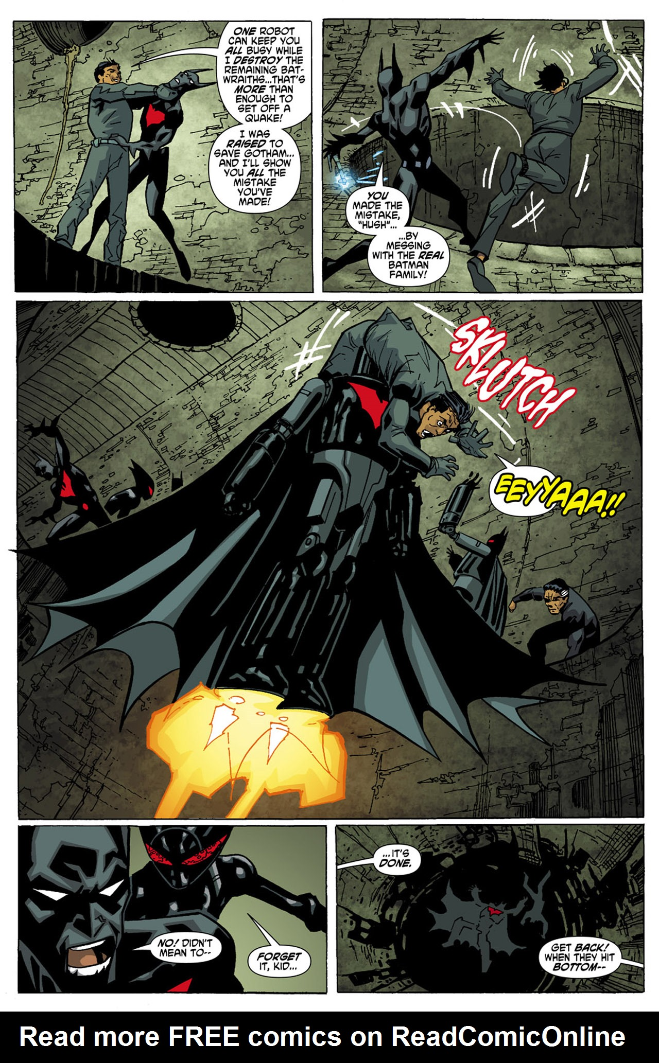 Batman Beyond (2010) Issue #6 #6 - English 19