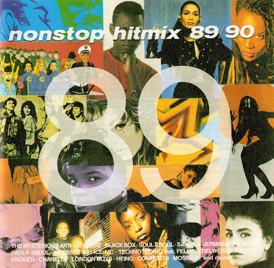 HIT MIX \'89-90 (CD) x50 original artists non-stop mix (Album) 1989 Eurobeat Hi-NRG Italo House Disco Pop 90\'s \