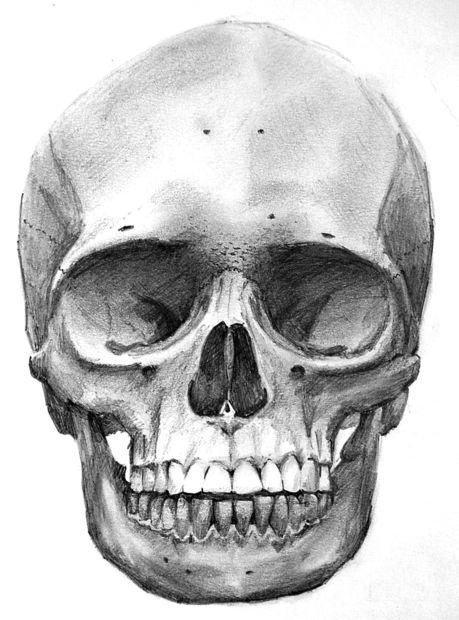 Skeleton makeup easy