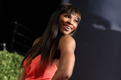 Black Tennis Pro's Serena Williams at 2011 Academy Awards