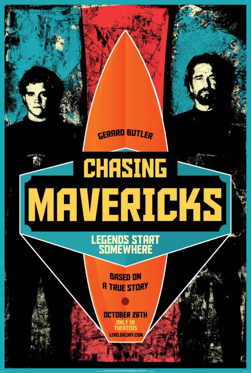 Persiguiendo Mavericks – DVDRIP LATINO