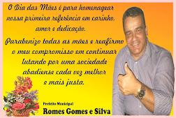 Homenagem do Prefeito de Abadia de Goiás a Todas as mães do Município
