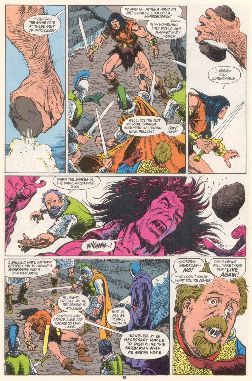 Conan the Barbarian (1970) Issue #255 #267 - English 15