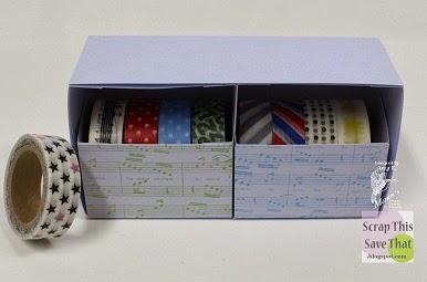 Washi Tape Storage Solution