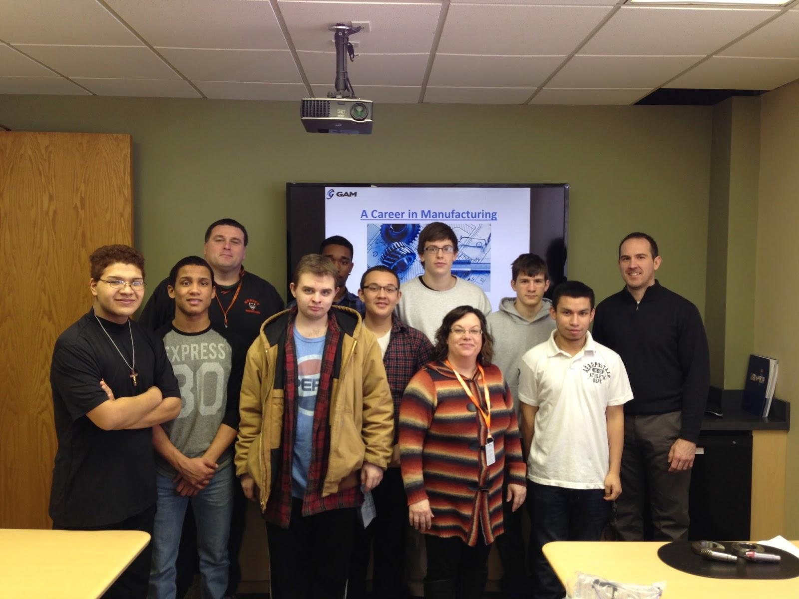 GAM Gear - High School Students Tour GAM Manufacturing