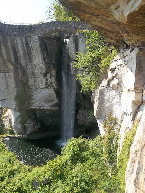 waterfall, Rock City, Tennessee, travel