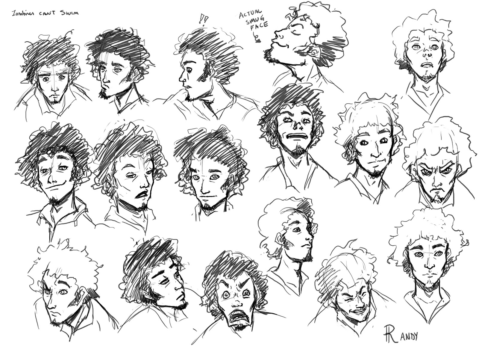 zombie expressions
