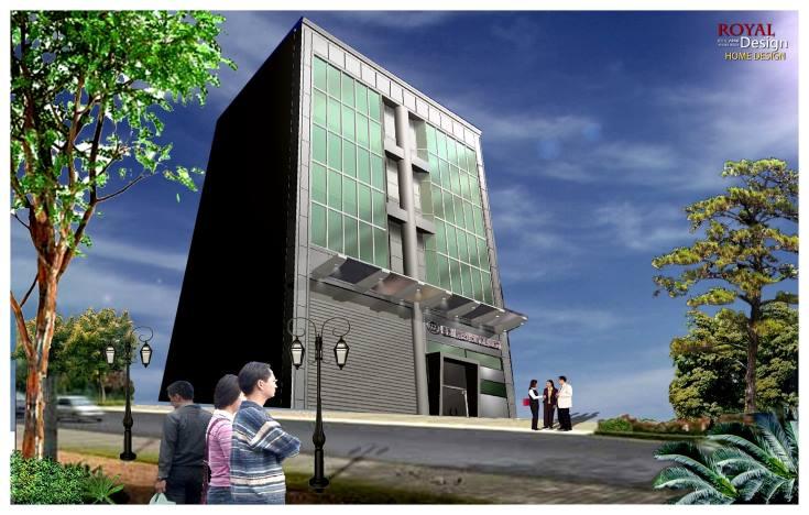 企業總部大樓辦公空間設計