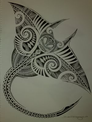 By the way Polynesian tattoos are really amazing. Design and shapes ...