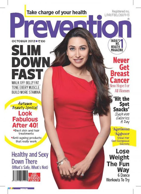 Karisma Kapoor Photo shoot for Prevention India [October 2012]