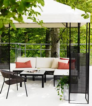 I consigli di irene arredare il giardino - Ikea divani giardino ...