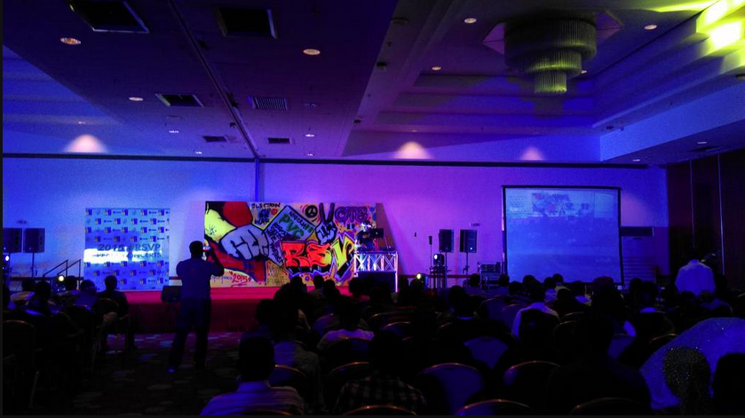 2015 Elections; Photos From Nigerians Youths RSVP Concert Held At Sheraton Hotel Abuja Today